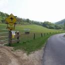 Vjíždíme do kopců a rázem se ocitáme na Novém Zélandu :-)