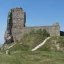 Na hradě Branč.