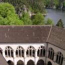 Pohled z věže, kam vylezl jen Pavel.