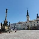 V Moravské Třebové (která je ale ještě v Čechách) jsme někteří z nás poprvé, překvapilo nás krásné náměstí