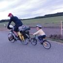 Šárka si vyžebrala jízdu na kole