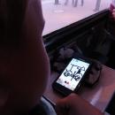 Co první namaluje ve vlaku na chytrém telefonu Víťa po týdnu stráveném na kole? :-)