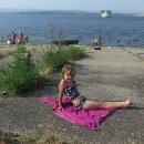 A co by to bylo za léto a za prázdniny bez koupání! Odpoledne na přehradě nemá chybu!
