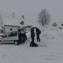 Po té, co jsme děti odvezli do Heroltic, přejíždíme do Vysokých Žibřidovic, kde necháváme auto