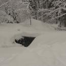 Zpočátku si vysoké vrstvy sněhu užíváme