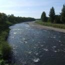 Řeka Už v Užhorodu
