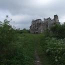 Zřícenina hradu Seredně