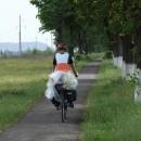 Parádní cyklostezka před Mukačevem
