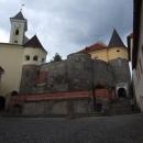 Na mukačevském hradu