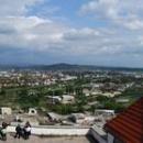 Panorama Mukačeva z hradu