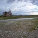 Solný důl v Solotvinu se solným jezerem