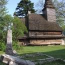 Dřevěný kostelík v Koločavě