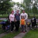 Rodina pana Savky, strážce našeho motorového oře