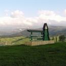 Vyhlídka nad Volovcem – na horách je ještě trochu sněhu