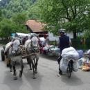 Na trhu v Koločavě