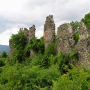 Zřícenina hradu nad Chustem byla to pravé pro mě