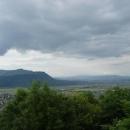 Výhled na Chust a okolí z hradu
