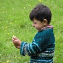 Ta radost v dětské tváři...
