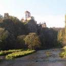 Zámek ve Vranově nad Dyjí. Ošklivý až hezký....