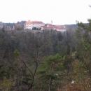 Výhledy na hrad jsou opravdu úchvatné.