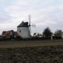 Starý větrný mlýn u Lesné.