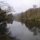 Poklidná hladina řeky Dyje