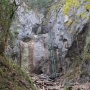 Pod Velkým vodopádem v Pieckách