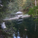 Přehrada Klauzy v roklině Bieleho potoka