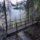 Mostek nad Sokolí dolinou