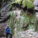 Pavel pod Mechovým vodopádem