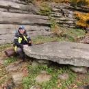 Kamenný stůl na Štamberku