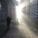 Ivoš si fotí, jak mizí i jeho Jitka...