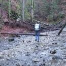 Vlastně jdeme korytem potoka