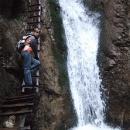 Stoupáme na dosah vodopádu