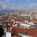 Výhled na město z pevnosti sv.Jiří