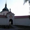 Kostel svatého Jana Nepomuckého ve Žďáru nad Sázavou - náš další cíl.
