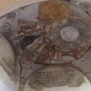 Nově odryté fresky v Sázavském klášteře