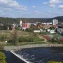 Panorama města Sázavy