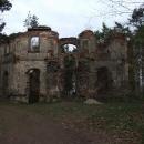 Zřícenina Barnabitského kláštera u Vysoké
