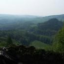 Výhled do údolí Divoké Orlice kam potom půjdeme