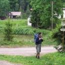 Hájek. Bývalé lázně uprostřed lesů - zajímavé a příjemné místo! Dochovala se snad jen 1 budova.