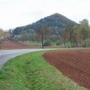 Žampach na strmém kopci
