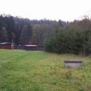 Tábor v údolí Zdobnice je již opuštěný. Pěkné místo na potenciální nocleh.