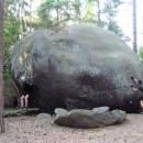 Když dvě stejné síly působí proti sobě, vzájemně se vyruší a kamen se ani nehne