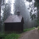 Kaple sv.Huberta u bývalého zámečku