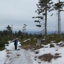 Ale ani jakási psychologická hranice 1000 metrů nepřinesla souvislou vrstvu sněhu.