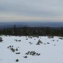 Výhledy do podhůří bez sněhu