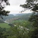 Vyhlídka nad meandrem Vltavy