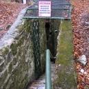 Vchod do jeskyní na Špičáku u Jeseníku