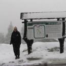 Červenohorské sedlo - tady neprší, sněží